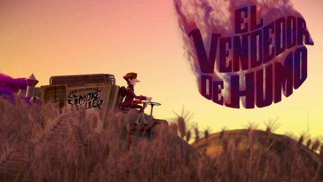 Imagen del cortometraje 'El vendedor de humo'