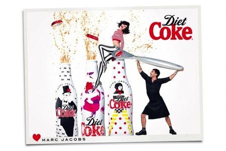 Marc Jacobs para Coke Diet: la campaña junto a Ginta Lapina