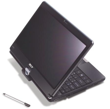 Acer 1820PT, con pantalla multitáctil para aprovechar Windows 7