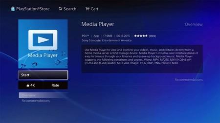 Sony Media Player