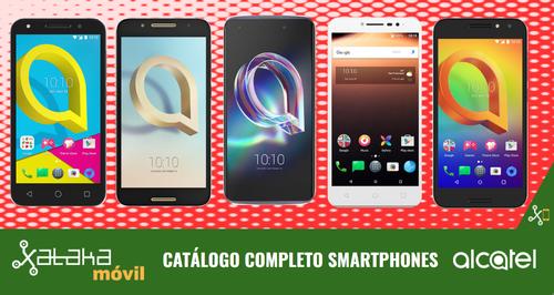Así queda el catálogo completo de smatphones Alcatel en 2017 tras las novedades presentadas en IFA