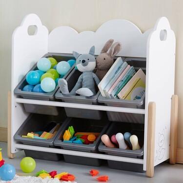21 organizadores y cestas para tener ordenada la habitación de los niños
