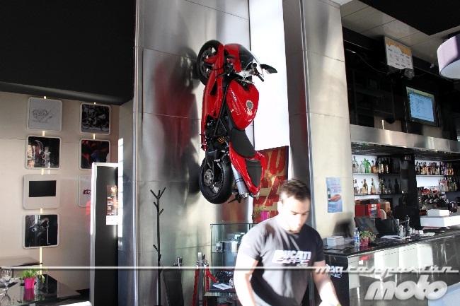 Ducati 1198 del Ducati Caffe en Roma