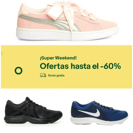 Superweekend en eBay: zapatillas running Revolution 4 de