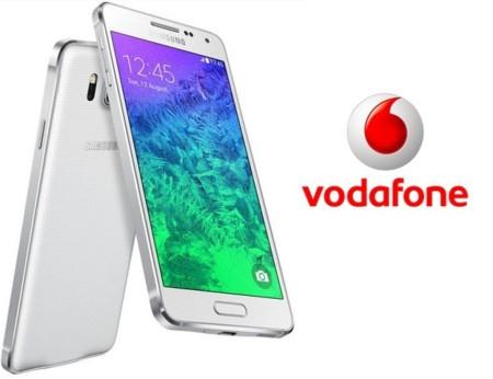 Precios Samusng Galaxy Alpha con Vodafone