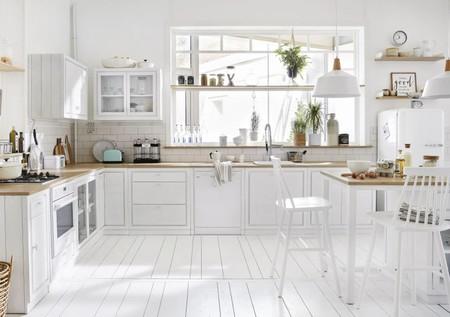 Mueble Alto De Cocina Blanco Con 2 Puertas 1000 4 29 187973 5