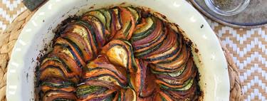 Tian de verduras: receta sana y fácil para sorprender (con vídeo incluido)