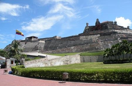 El Castillo San Felipe de Barajas en Cartagena de Indias
