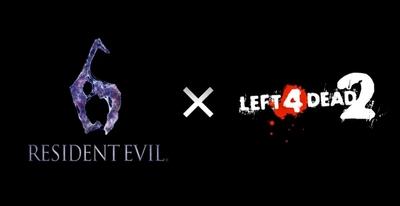 Sorprendente crossover entre 'Resident Evil 6' y 'Left 4 Dead 2'