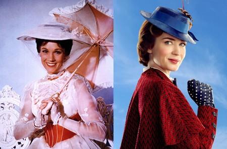 Julie Andrews y Emily Blunt