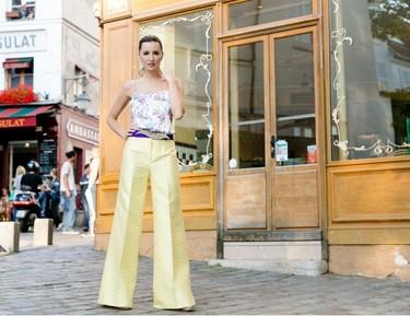 Adiós a los vestidos de fiesta para bodas, llega el momento de los pantalones palazzo