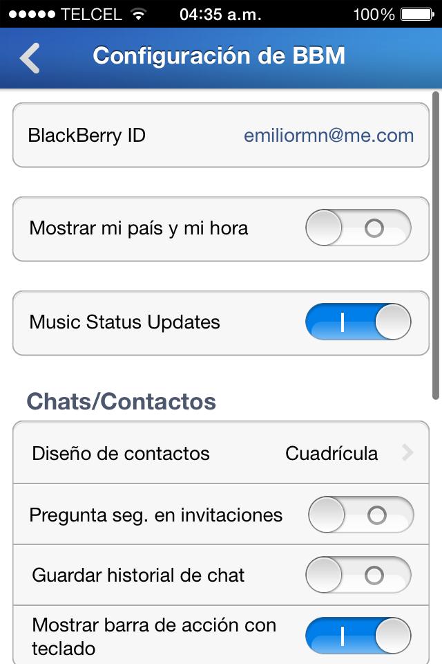 Foto de BBM para iOS (4/8)