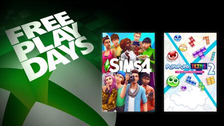 Los Sims 4 y Puyo Puyo Tetris 2 se podrán jugar gratis durante el fin de semana con Xbox Live Gold