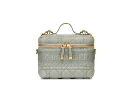 Dior Small Vanity Diortravel Grey
