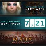 Dota 2: Ya hay fecha para la nueva temporada por rangos, la Actualización 7.21 y el nuevo héroe Mars