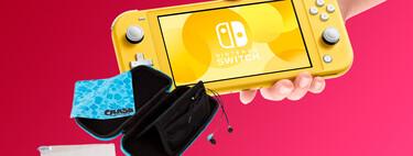 La popular Nintendo Switch Lite está de oferta en PcComponentes a 188,99 euros con funda, protector de pantalla y auriculares
