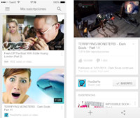 YouTube optimiza (por fin) su aplicación oficial para iOS 7