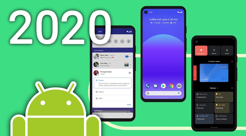 Las mejores novedades de Android™ en 2020 (y once cosas que seguimos esperando)