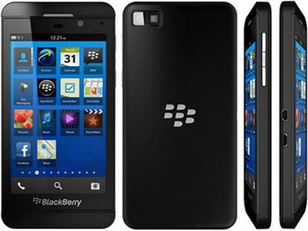 Todos los precios de la Blackberry Z10 con Vodafone