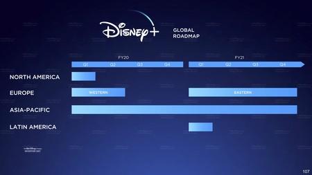 Disney+ Lanzamiento