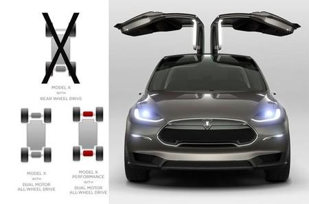 El Tesla Model X podría ser solo con tracción a las cuatro ruedas y costar algo más que el Tesla Model S