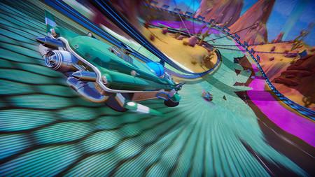 Anunciado Trailblazers, un videojuego de carreras arcade que parece una mezcla de F-Zero con Splatoon