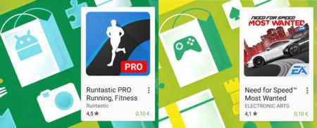 Oferta de la semana de Google Play: Runtastic PRO y Need for Speed Most Wanted a 0,10 euros
