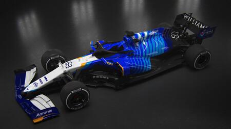 El primer Williams de Fórmula 1 sin los Williams cambia de decoración y luce pocas pegatinas