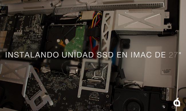 Instalación SSD adicional en iMac