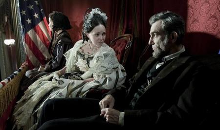 Lincoln con su esposa