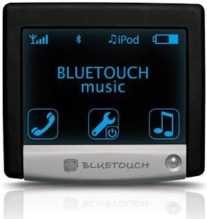 Bluetouch, manos libres y música