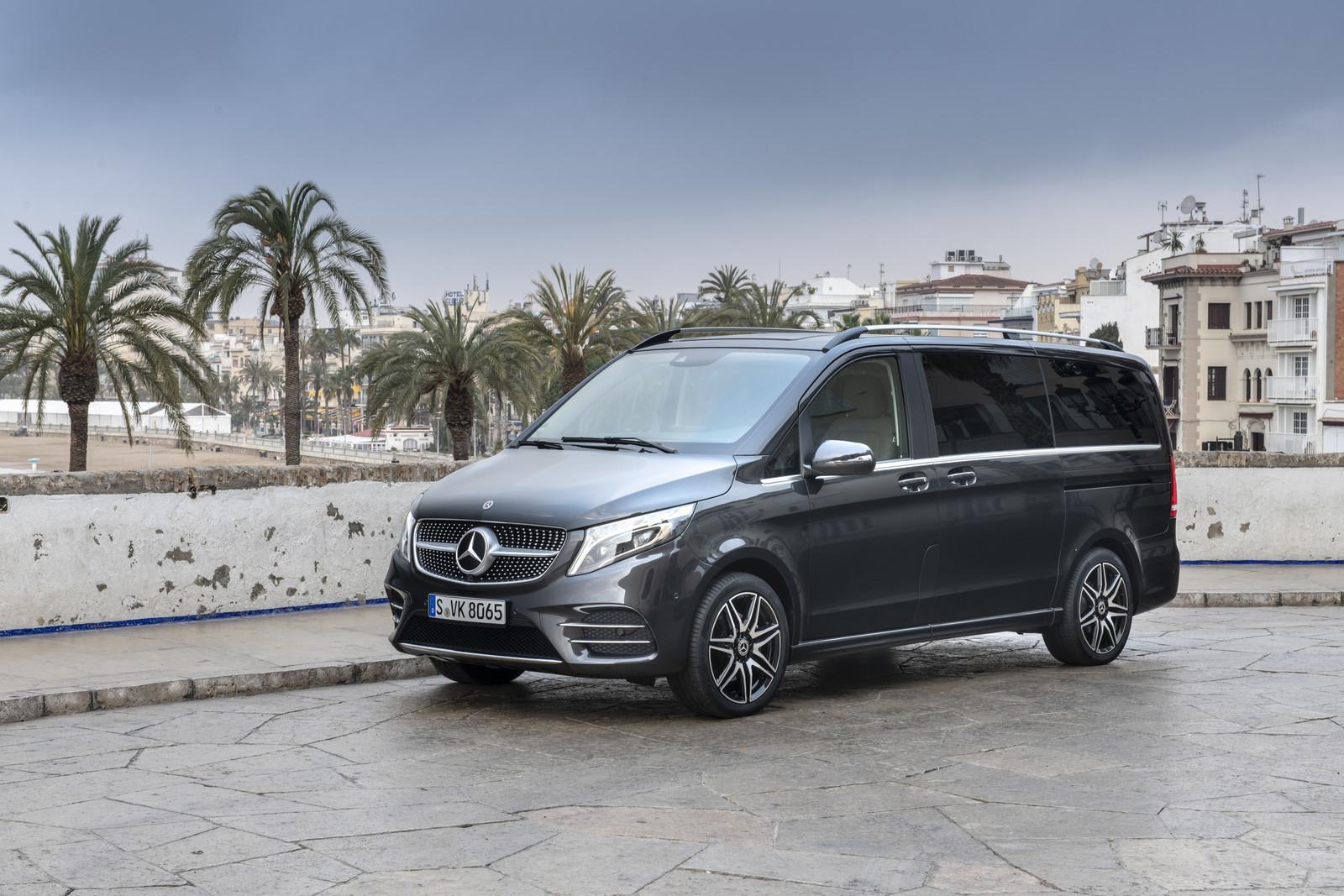 Foto de Mercedes-Benz Clase V 2019 (50/92)