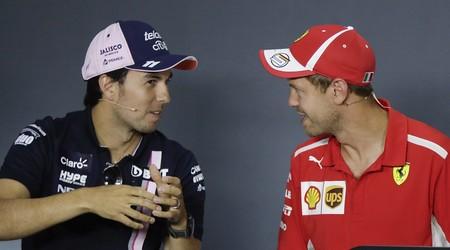 Vettel Perez F1 Aston Martin 2021