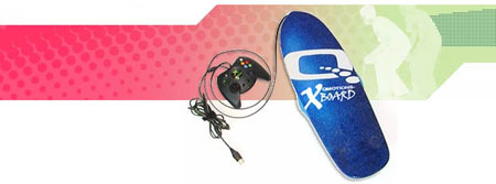 Qmotions-Big Air: tabla de skate para XBox 360