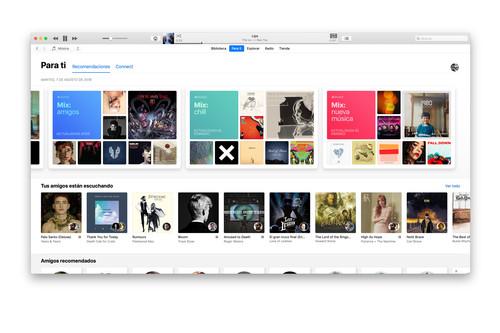 'Apple Music Mix: amigos', la una nueva lista personalizada que nos recomienda lo que escuchan nuestros amigos