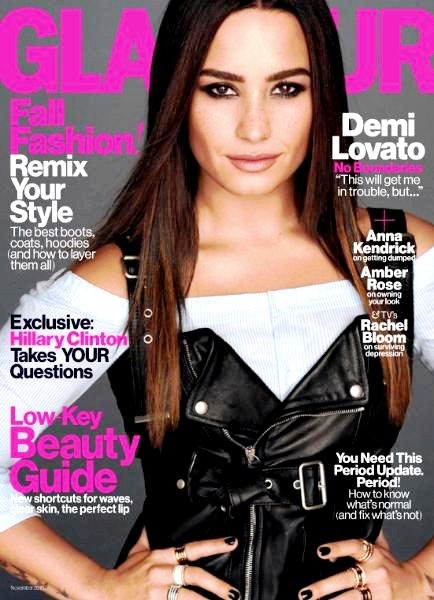 Glamour USA: Demi Lovato