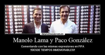Manolo Lama y Paco González