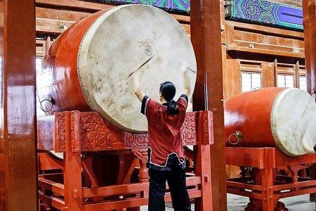 Las torres del tambor y de la campana de Beijing