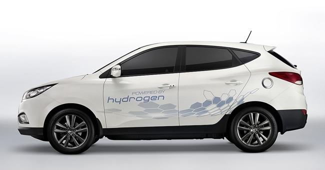 Hyundai ix35 FCEV vista lateral