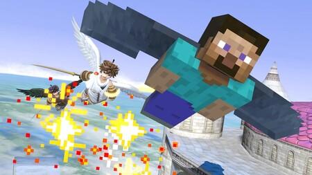 Super Smash Bros Ultimate Minecraft 04