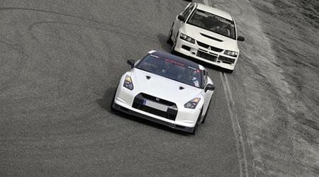 Vuelta al Circuito de Navarra en un Nissan GT-R de 650 CV