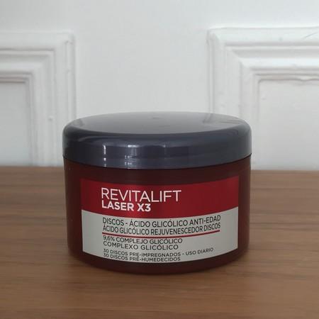 L'Oréal lanza los discos Revitalift Laser con ácido glicólico. Los probamos