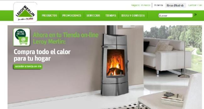 La tienda online de leroy merlin contin a creciendo - Accesorios chimeneas leroy merlin ...