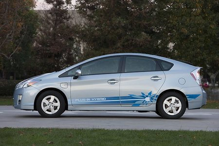 Coche híbrido de Toyota