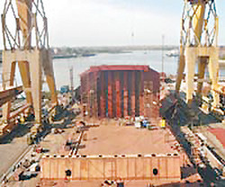 Cádiz gana un contrato importante para construir un barco
