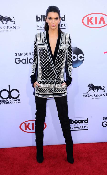 Kendall Jenner Billboard 2015 Balmain