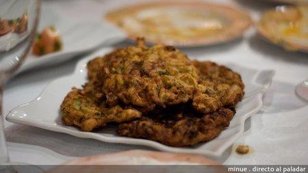 Restaurante sirio en valencia - tortitas de verduras