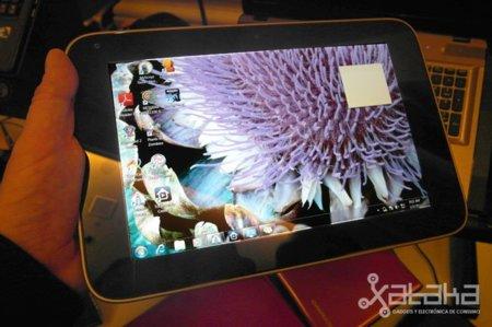 Lenovo Lepad - Prueba en CES 2011