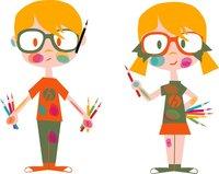 Diana y Jonás, dos niños guías de Huesca