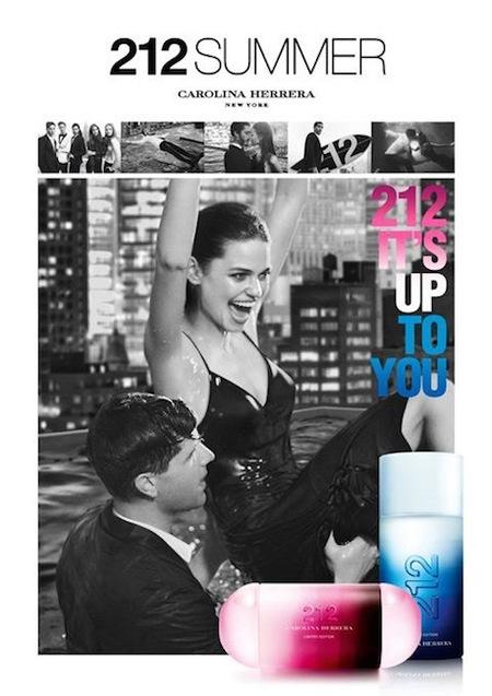 Carolina Herrera nos presenta en edición limitada su versión veraniega de 212